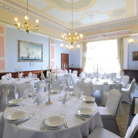 Wedding Breakfast Wherstead Park Venue in Ipswich