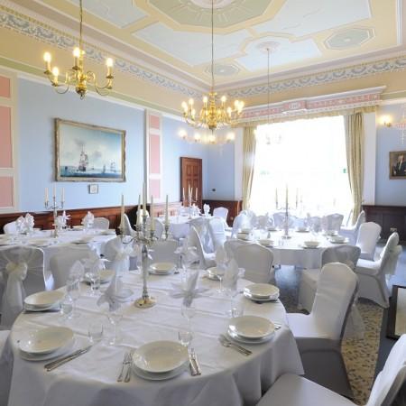 Wedding Breakfast Wherstead Park Venue in Ipswich